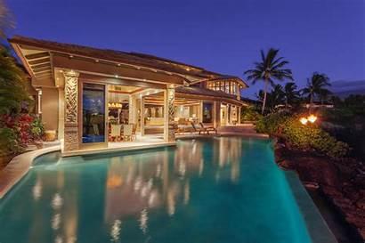 Island Estate Hawaii Water Hawaiian Pool Kukio