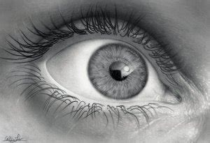 Как нарисовать красиво глаз для начинающих