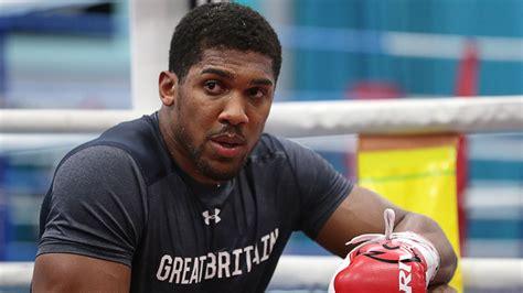 Latest update on Anthony Joshua's next fight - Boxing News