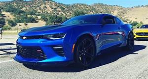 Image Gallery 2017 Blue Camaro