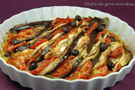 recette de cuisine avec aubergine aubergines en éventail au sainte maure péché de gourmandise