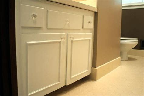 adding trim to plain cabinets bathroom cabinet doors lowes woodworking projects plans