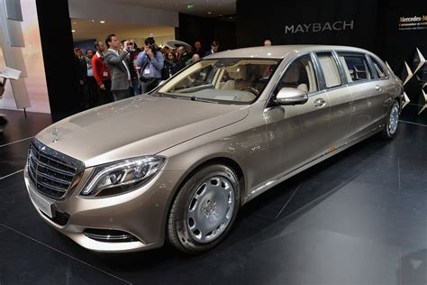 2016 Benz Cars Limousine Luxury Maybach Mercedes Pullman