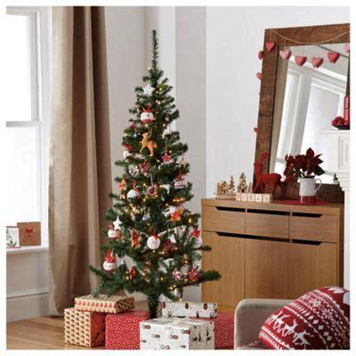 buy green 6ft tree tesco from our trees range tesco - Christmas Tree Decorations Tesco
