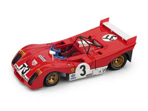 In memoria di ignazio giunti. Ferrari 312 PB Targa Florio 1972 T-Car 1:43 Brumm