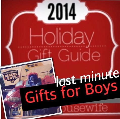 2014 holiday gift guide last minute gifts for boys 4 12