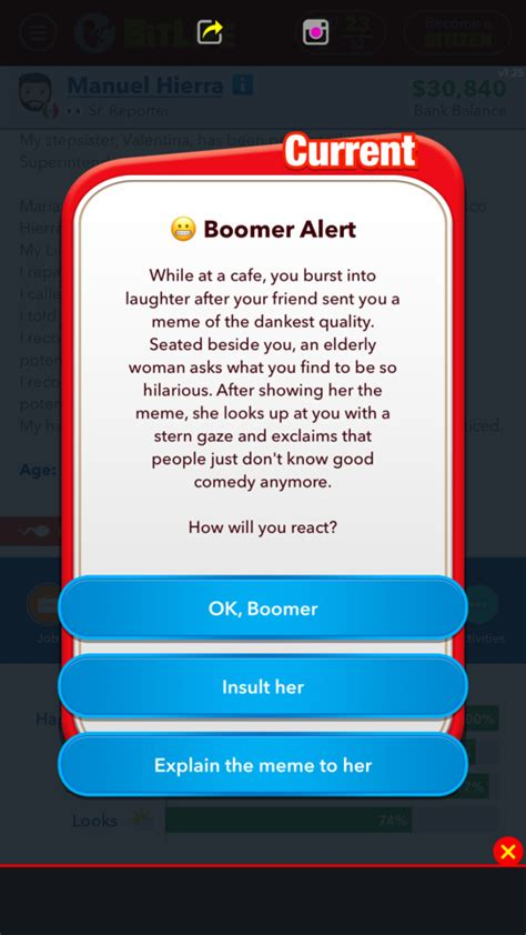 bitlife wow didn quick memes know af