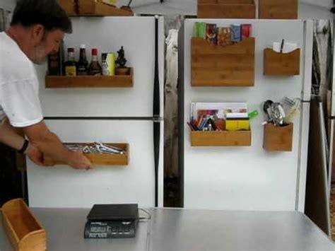 Refrigerator Spice Rack by Magnarack Magnetic Spice Rack And Storage Shelf