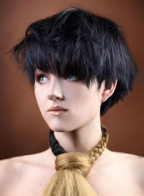 Hairstyles For Black With Thick Hair by 10 Best Haircuts With Bangs Ideas Pretty Designs