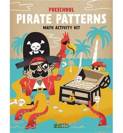 preschool pirate patterns flash editors 508 | 9781411465527