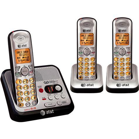 phone cordless digital system answering handset dect