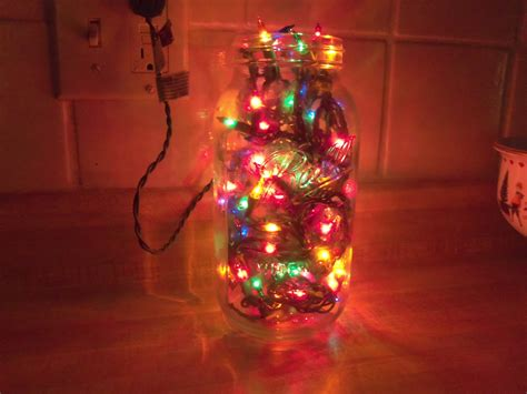 so i saw this neat thing on pinterest the easiest christmas decoration ever