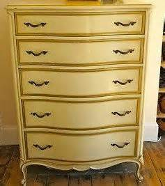 vintage provincial highboy chest of drawers by
