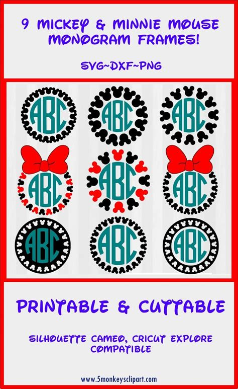 All designs are welded or grouped for easier handling. round vintage silhouette cameo frame clipart monogram ...