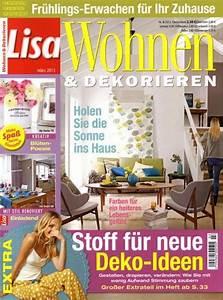 Zeitschriften Wohnen Und Einrichten : lisa wohnen dekorieren ~ Michelbontemps.com Haus und Dekorationen