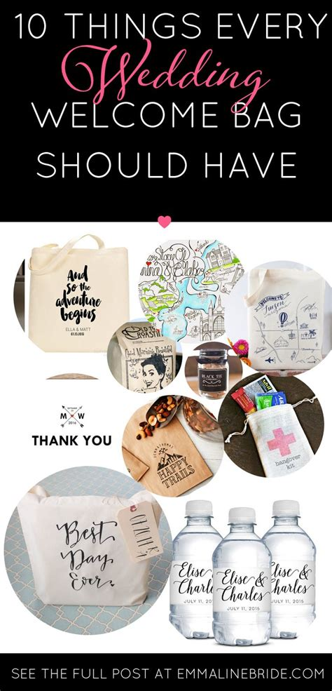 17 Best Ideas About Wedding Welcome Bags On Pinterest