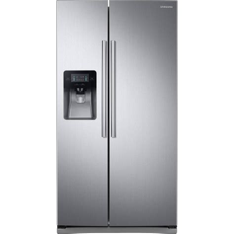 Samsung 25 Cu Ft Side By Side Refrigerator With Led