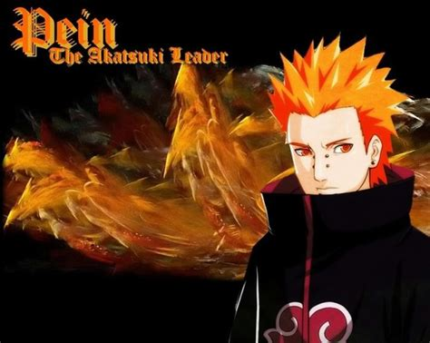 Pein The Akatsuki Leader