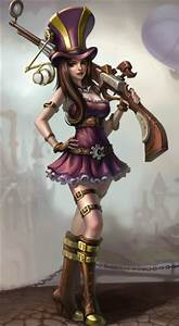 Caitlyn: The Sheriff of Piltover - League of Legends ...