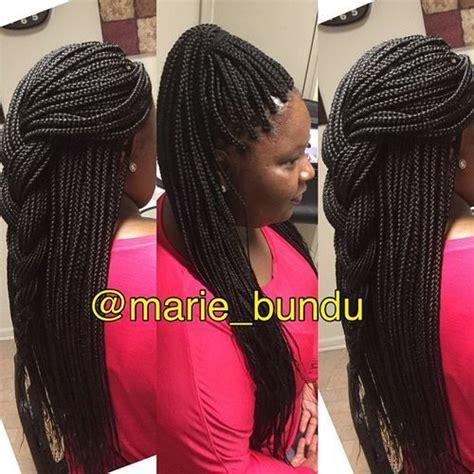 exquisite box braids hairstyles   impress