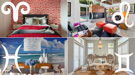 Home Decor Zodiac Sign : How To Decorate Your Home, According To Your Zodiac Sign