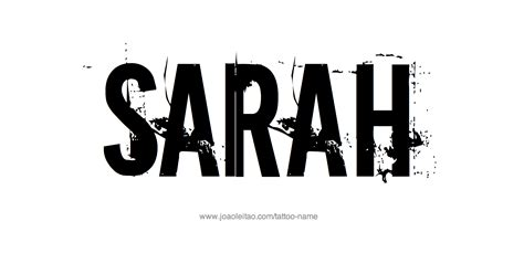 sarah  tattoo designs