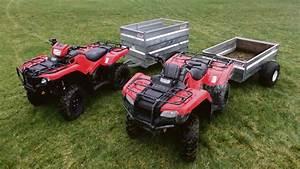 On Test  Honda U0026 39 S Latest Trx 420 And 500 Atv Models