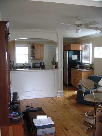 Photo 4   Eliptical Arch Kitchen Pass Through Wall   Click