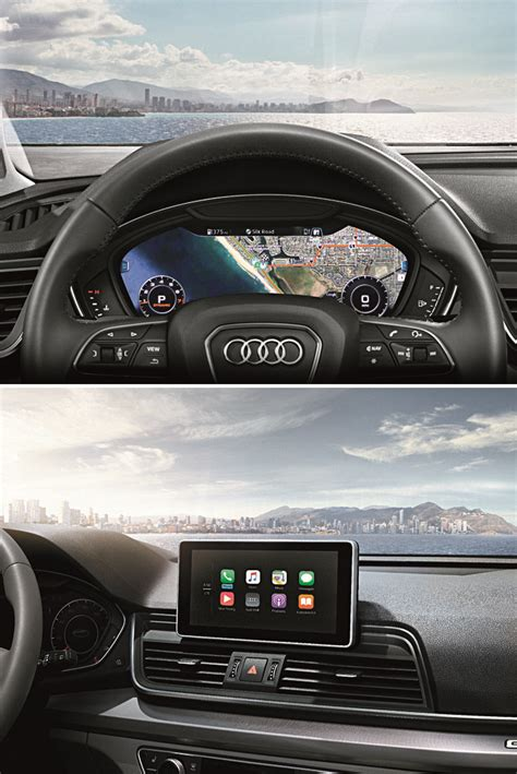 audi up display 2018 audi q5 up display top and audi infortainment