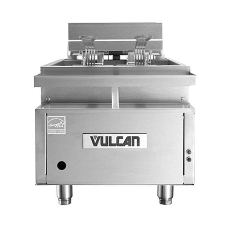 solid state countertops vulcan cef75 75lb electric countertop fryer w solid state