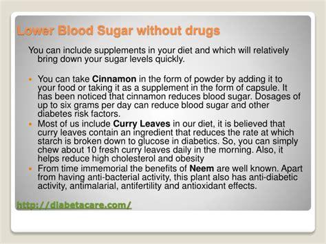 blood sugar level diabetacare powerpoint