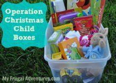Operation Christmas Child boxes cheap and easy ways to