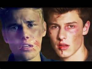 Shawn Mendes and Justin Bieber