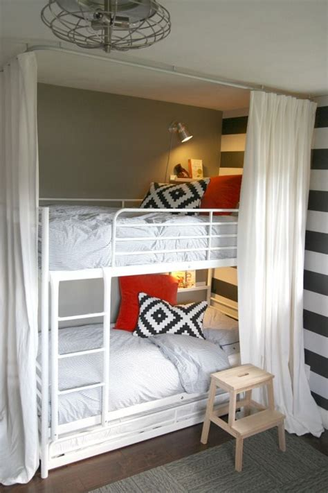 ikea troms 214 bunk bed with trundle and a tutorial on how