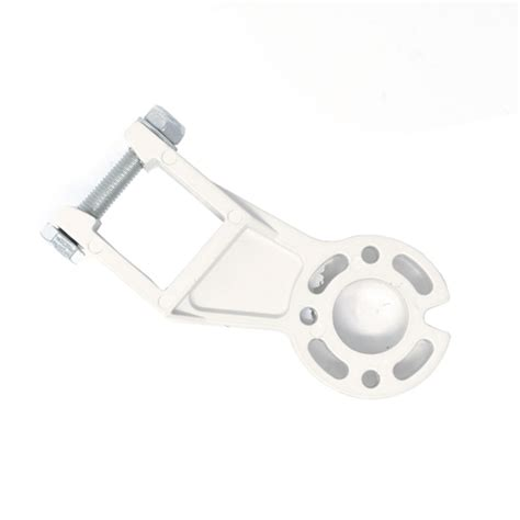 support bracket  retractable awning gearbox white aleko