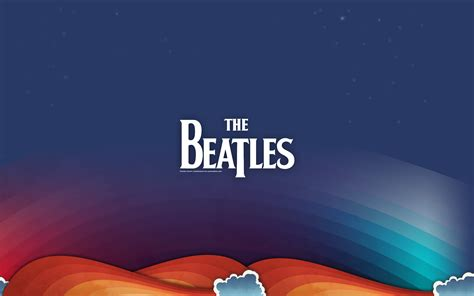 wallpaper  beatles rock band pop liverpool logo