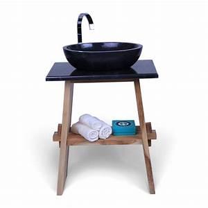 Waschtisch Aus Holz : teak holz waschtisch zen inkl marmorplatte ~ Michelbontemps.com Haus und Dekorationen
