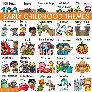 Themes | Literacy activities, Early childhood and Free ...