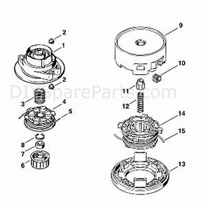 Stihl Fs 80 Brushcutter  Fs80 4137   Parts Diagram  K