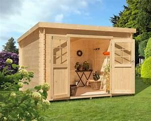 Einfache Holzfenster Für Gartenhaus : luoman gartenhaus inkl aufbau bxt 300x300 cm otto ~ Articles-book.com Haus und Dekorationen