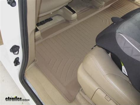 2007 Honda Odyssey Weathertech Floor Mats by Weathertech 2nd Row Rear Auto Floor Mat Weathertech