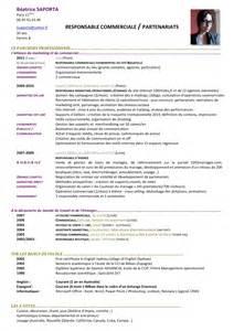 modele cv cadre commercial cv responsable commercial