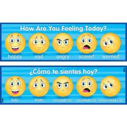 How Are You Feeling Today Banner English Spanish