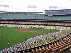 Seating Chart Dodger Stadium Rows Dodger Stadium Section 161 Rateyourseats Com