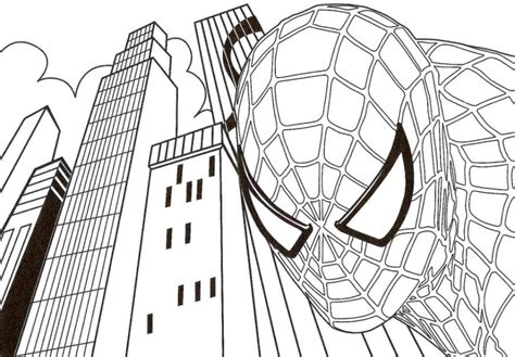 20+ Free Printable Spiderman Coloring Pages