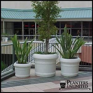 Large Commercial Fiberglass Planters, Outdoor or Indoor ...