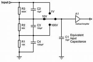 compensated attenuator With attenuator circuit