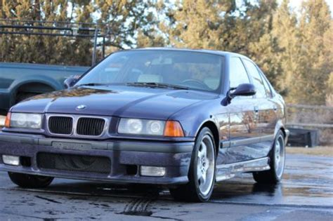 Bmw Bend Oregon by Purchase Used 1997 Bmw E36 M3 Sedan 5 Speed Manual In Bend