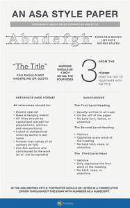 Resume Paper Template A Guide To Asa Format And Asa Citation With Images