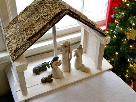 diy nativity stable diy  crafts stables  nativity